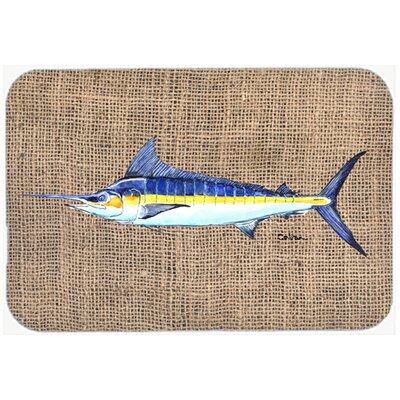 Fish Marlin Kitchen/Bath Mat Size: 20 H x 30 W x 0.25 D