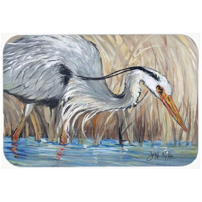 Heron The Reeds Kitchen/Bath Mat Size: 20 H x 30 W x 0.25 D