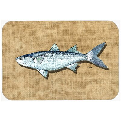 Mullet Kitchen/Bath Mat Size: 24 H x 36 W x 0.25 D