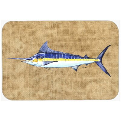 Marl Kitchen/Bath Mat Size: 24 H x 36 W x 0.25 D