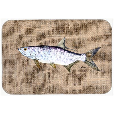 Fish Tarpon Kitchen/Bath Mat Size: 24 H x 36 W x 0.25 D