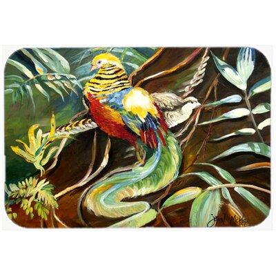 Mandarin Pheasant Kitchen/Bath Mat Size: 24 H x 36 W x 0.25 D