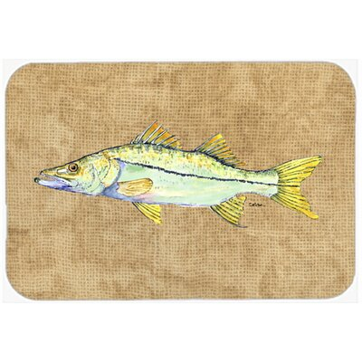 Snook Kitchen/Bath Mat Size: 24 H x 36 W x 0.25 D