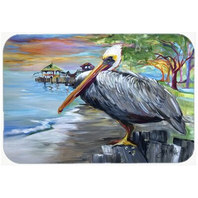 Pelican View Kitchen/Bath Mat Size: 24 H x 36 W x 0.25 D