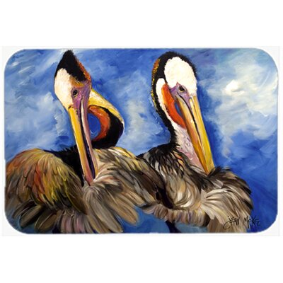 Pelican Brothers Kitchen/Bath Mat Size: 24 H x 36 W x 0.25 D