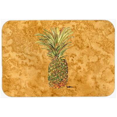 Pineapple Kitchen/Bath Mat Size: 20