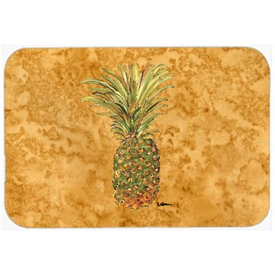 Pineapple Kitchen/Bath Mat Size: 24 H x 36 W x 0.25 D