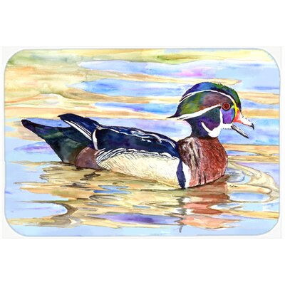 Wood Duck Kitchen/Bath Mat Size: 24 H x 36 W x 0.25 D