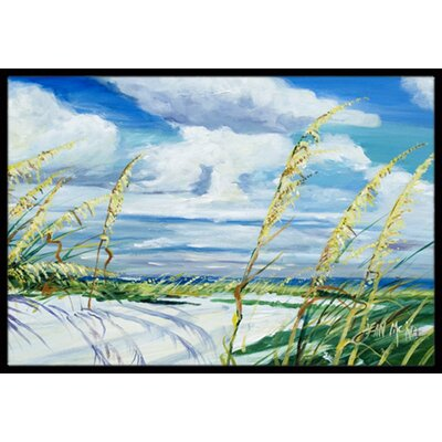 Sea Oats Doormat Rug Size: Rectangle 2 x 3
