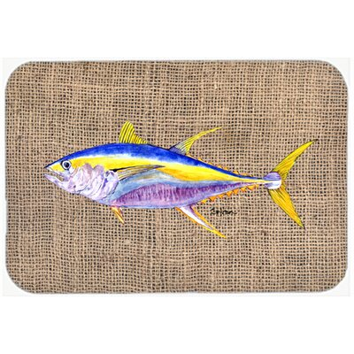 Fish Tuna Kitchen/Bath Mat Size: 24 H x 36 W x 0.25 D