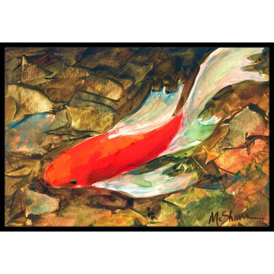 Louis Fish Doormat Mat Size: Rectangle 2 x 3