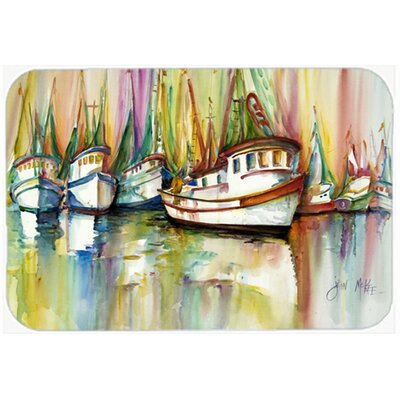 Shrimp Fleet Kitchen/Bath Mat Size: 20 H x 30 W x 0.25 D