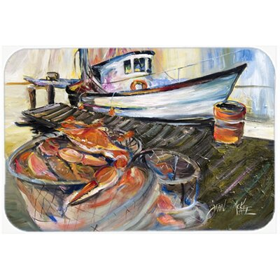 Crab Trap Kitchen/Bath Mat Size: 24 H x 36 W x 0.25 D