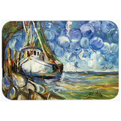 Shrimp Boat 101 Kitchen/Bath Mat Size: 24 H x 36 W x 0.25 D