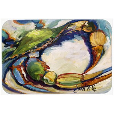 Crab Kitchen/Bath Mat Size: 20 H x 30 W x 0.25 D
