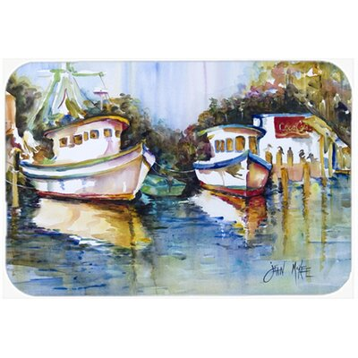 Fly Creek Fish Market Kitchen/Bath Mat Size: 24 H x 36 W x 0.25 D