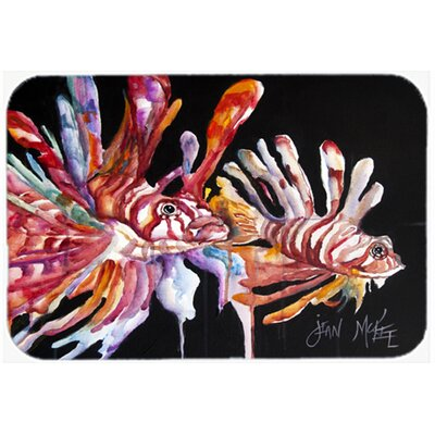 Lionfish Kitchen/Bath Mat Size: 20 H x 30 W x 0.25 D