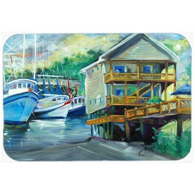 Ocean Springs Harbour Landing Kitchen/Bath Mat Size: 20 H x 30 W x 0.25 D