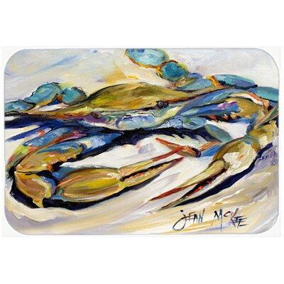Crab Kitchen/Bath Mat Size: 24 H x 36 W x 0.25 D