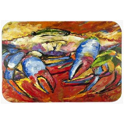 CrabKitchen/Bath Mat Size: 20 H x 30 W x 0.25 D