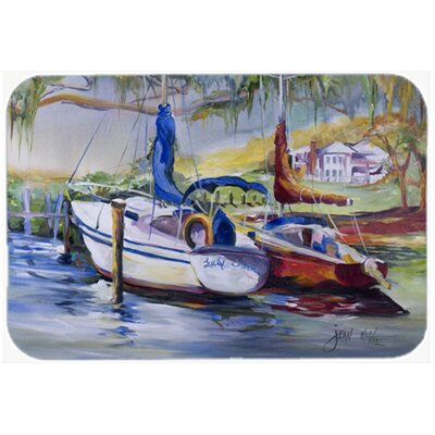 Lucky Dream Sailboat Kitchen/Bath Mat Size: 24 H x 36 W x 0.25 D
