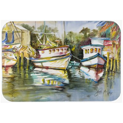 Fish Market Kitchen/Bath Mat Size: 24 H x 36 W x 0.25 D