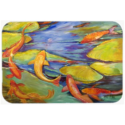 Koi Kitchen/Bath Mat Size: 20 H x 30 W x 0.25 D