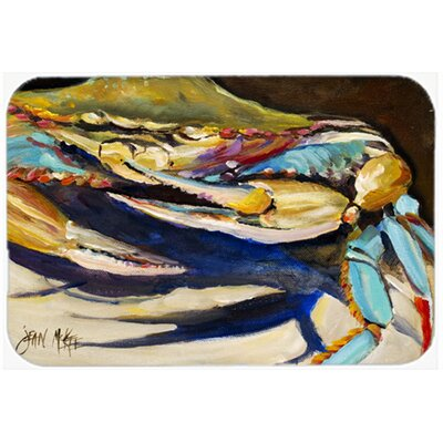 Crab To Crab Crab Kitchen/Bath Mat Size: 24 H x 36 W x 0.25 D