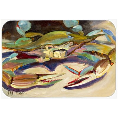 Crab Tail F Kitchen/Bath Mat Size: 20 H x 30 W x 0.25 D