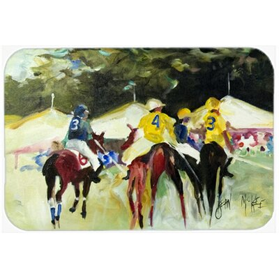 Polo At The Point Kitchen/Bath Mat Size: 20 H x 30 W x 0.25 D
