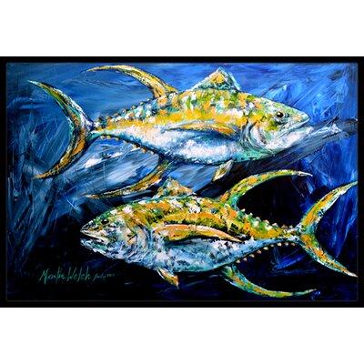 Tuna Tuna Doormat Rug Size: 16 x 2 3