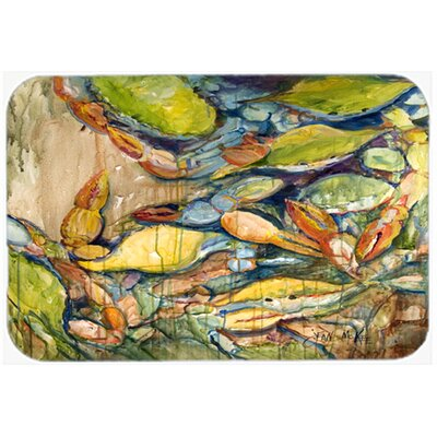 Jubilee Crab Kitchen/Bath Mat Size: 24 H x 36 W x 0.25 D