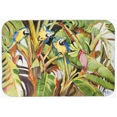 Three Parrots Kitchen/Bath Mat Size: 20 H x 30 W x 0.25 D