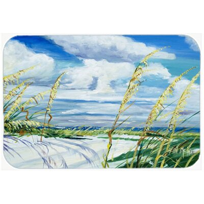 Sea Oats Kitchen/Bath Mat Size: 20 H x 30 W x 0.25 D