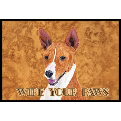 Basenji Doormat Mat Size: Rectangle 2 x 3