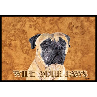Mastiff Doormat Mat Size: Rectangle 2 x 3