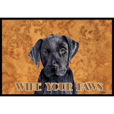 Labrador Doormat Rug Size: 2 x 3
