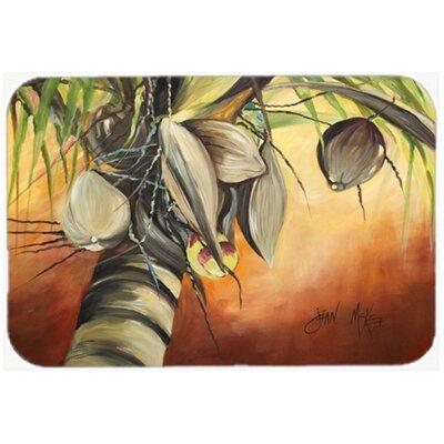 Coconut Tree Kitchen/Bath Mat Size: 20 H x 30 W x 0.25 D