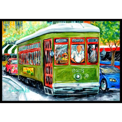 Street Car Doormat Mat Size: Rectangle 16 x 2 3