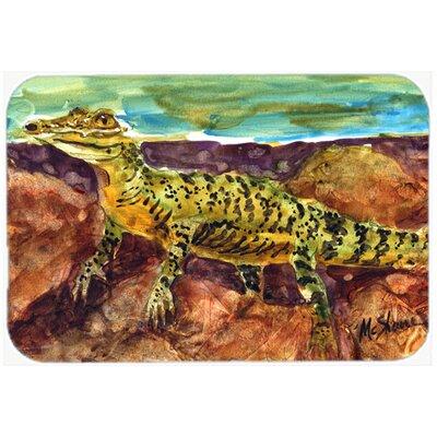 Alligator Kitchen/Bath Mat Size: 24 H x 36 W x 0.25 D