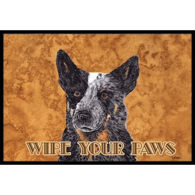 Australian Cattle Dog Doormat Mat Size: Rectangle 16 x 2 3
