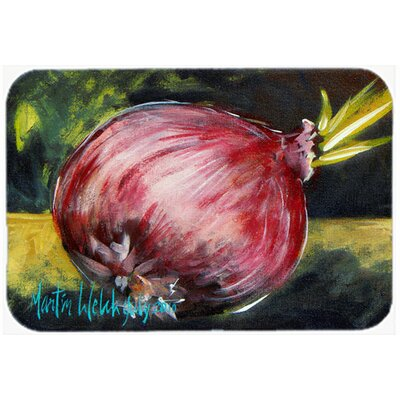 Vegetables Onion One-Yun Kitchen/Bath Mat Size: 20 H x 30 W x 0.25 D