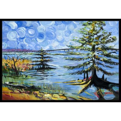 Life on the Causeway Doormat Rug Size: Rectangle 16 x 2 3