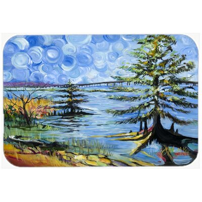 Life on The Causeway Kitchen/Bath Mat Size: 20 H x 30 W x 0.25 D