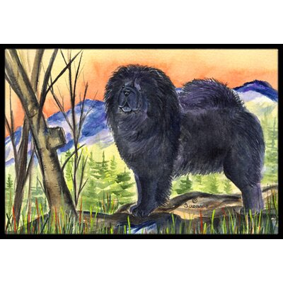 Chow Chow on Mountain Doormat Rug Size: 2 x 3