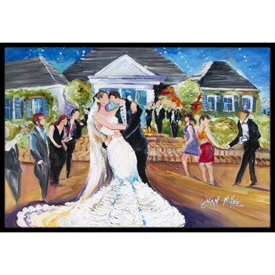 Our Wedding Day Doormat Mat Size: Rectangle 16 x 2 3