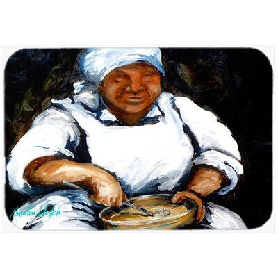 Hot Water Cornbread Kitchen/Bath Mat Size: 24 H x 36 W x 0.25 D
