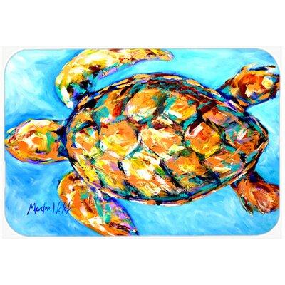 Sand Dance Turtle Kitchen/Bath Mat Size: 20 H x 30 W x 0.25 D
