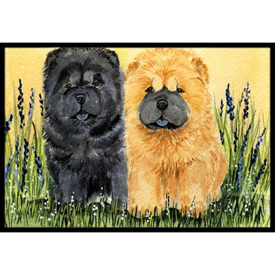 Chow Chow Doormat Rug Size: 16 x 2 3