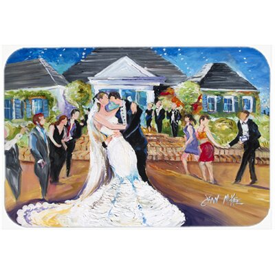 Our Wedding Day Kitchen/Bath Mat Size: 24